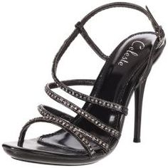 @Overstock.com - Rhinestone encrusted straps swirl about these black sandals by Celeste in a stylish, asymmetrical design ending in a buckled side ankle strap. A 4.25-inch stiletto heel and 1.25-inch platform punctuate these stunning sandals.http://www.overstock.com/Clothing-Shoes/Celeste-Womens-Hana-13-Black-Rhinestone-Sandals/6731744/product.html?CID=214117 $44.99