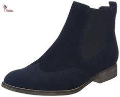Gabor Shoes Gabor 51.662 Bottes Chelsea Femme, Gris, 38.5 EU
