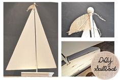 DIY Sailboat Number 1 - Country Design Style