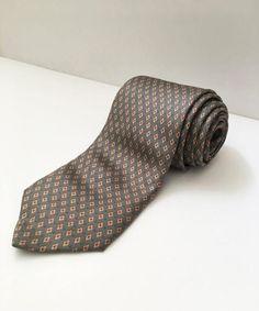 Cravatta vintage in seta di Obsessionary su Etsy