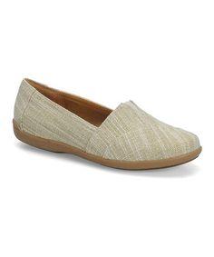 Another great find on #zulily! Sand Amena Slip-On Shoe by Softspots #zulilyfinds