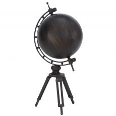"23"" Standing Metal Globe"