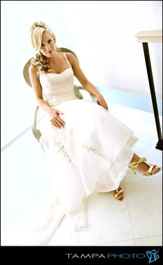 Head-to-toe. Especially the toes... #resort #wedding