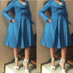 Trendy Shweshwe Dresses: Shweshwe form is a great deal of aback and substituting truly, obliteration is whenever dead, out or old. South African Dresses, African Dresses For Women, African Attire, African Wear, African Fashion Dresses, Latest Ankara Dresses, Ankara Dress Styles, Shweshwe Dresses, Formal Dresses For Weddings