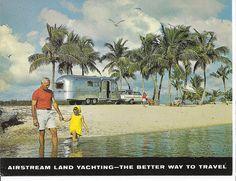 Vintage Airstream Postcard