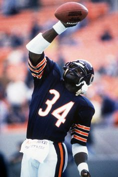 Walter Payton (RB) Bears - First Year: 1975 - Career: 13 seasons - Drafted: Round 1, Pick 4
