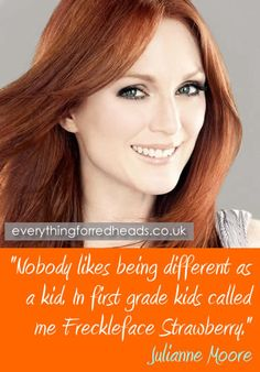 Or Big Red, or Bozo... Julianne Moore Famous Redhead