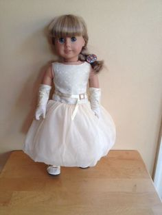 American Girl Doll Ball Gown Outfit