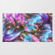 Black Hole Galaxy Rug