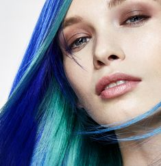 Mermaid Hair #mycolorfulhair #lorealpro #nellemanigiuste #mermaid