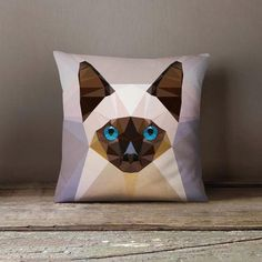 New cheap pet gift uploaded at SketchGrowl: Personalized Geometric Siamese Cat Pillowcase Gifts For Pet Lovers, Pet Gifts, Cat Lovers, Designer Pillow, Designer Throw Pillows, Cheap Pets, Cat Cushion, Custom Pillow Cases, Eddie Murphy