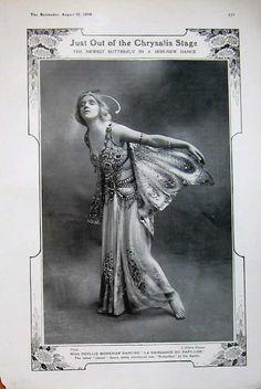 Miss Phyllis Monkman, 1908.