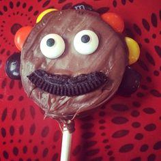 Turkey cookie pops flew south. #pinterestfail