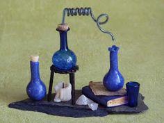 Marfolhuz Miniature's Potion brewing