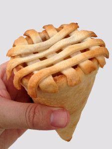 The Apple Pie Cone I got this recipe at http://porkrecipe.org/posts/The-Apple-Pie-Cone-55454