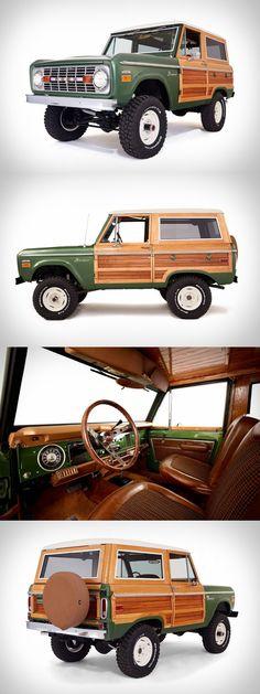 Woody Ford Bronco                                                                                                                                                                                 Más