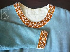 French costume article on 13th c. high status lady's dress. broderie.jpg