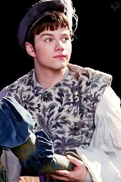 Y'all have to admit, he did look pretty cute as Romeo ;)