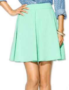 Collective Concepts skirt via @InStyle
