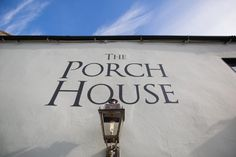Take a Look Inside England's Oldest inn - The Porch House Snug Room, Bar Areas, Main Entrance, Outdoor Seating, Conservatory, Outdoor Lighting, Outdoor Gardens, Signage, Facade