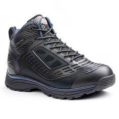Dickies Wraith EXO-Lite Men's Steel-Toe Work Shoes, Size: medium (7.5), Black
