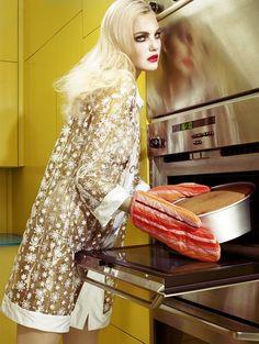 Caroline Trentini Miles Aldridge Vogue Italia Fashion Photography