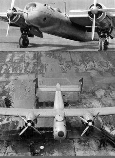 The Junkers EF 61 pressurised high-altitude bomber prototype, 1937 (via)