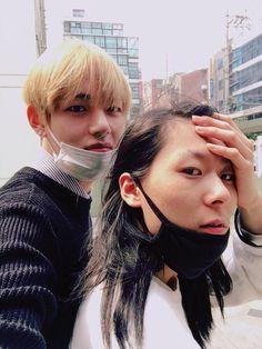 V + Jang Moon Bok (rapper)