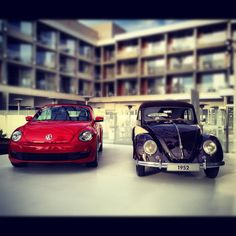 VW Beetle New and Old