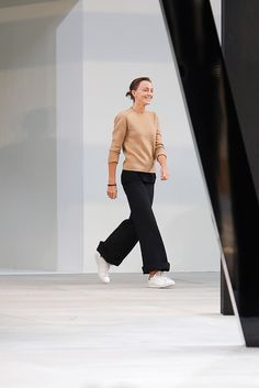 Phoebe Philo at Céline Spring 2015 Ready-to-Wear