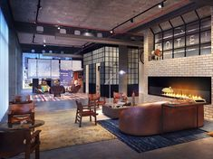 Hospitality Design - Moxy Hotels to Enter U. Amazon Hotel, Times Square Hotels, Seattle Hotels, Snug Room, Living Room Lounge, Living Rooms, Hotel Architecture, Great Hotel, Paris Hotels