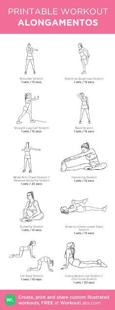 Fitness workouts gym cardio at home 21 super ideas Cardio At Home, At Home Gym, Gym Workouts, At Home Workouts, Butterfly Stretch, Fitness Tips, Health Fitness, Printable Workouts, Personal Trainer
