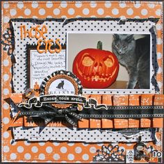 I need to get back to doing this. Scrapbook Layout