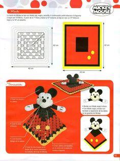 "Photo from album ""Crochet mantas de apego on Yandex. Crochet Lovey, Crochet Geek, Manta Crochet, Crochet For Kids, Afghan Crochet Patterns, Crochet Stitches, Crochet Hooks, Crochet Supplies, Baby Lovey"