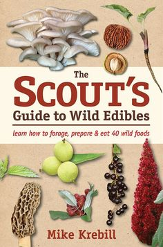 The Scout's Guide to Wild Edibles isn't just for kids. This delightful, pocket-sized guide helps beginners of all ages to identify 40 wild edibles. Recipes and activities included!