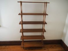 Retro Teak Mid Century Modern MCM Shelving Unit Bookshelf Parker Chiswell Danish in Home & Garden, Furniture, Sideboards & Buffets | eBay!