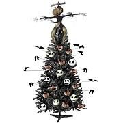 With this Nightmare Before Christmas 2006 Christmas Tree with Head Lights, you can forget about buying that expensive Christmas tree. Save some money and celebrate in grand Nightmare Before Christmas-style
