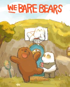 We Bare Bears by storyboard revisionist Maddie Sharafian Cute Panda Wallpaper, Bear Wallpaper, Cartoon Wallpaper, We Bare Bears Wallpapers, Panda Wallpapers, Cute Animal Drawings, Cute Drawings, Cartoon Shows, Cartoon Characters