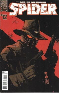 THE SPIDER # 12 DYNAMITE ENTERTAINMENT FIRST PRINT