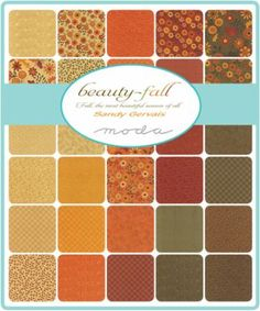 Beauty Fall by Sandy Gervais for Moda Fabrics - May 2016