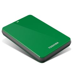 Toshiba 500GB Canvio® 3.0 Portable Hard Drive - Green