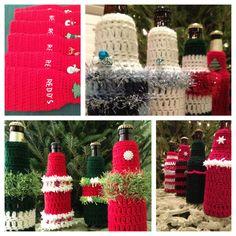 Crochet PATTERN Koozie CIJ Bottle Koozie Ugly by BeachDaisyJewelry
