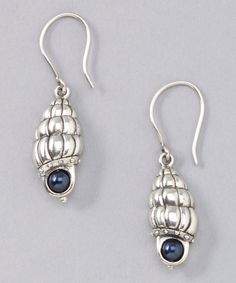 Waxing Poetic Sterling Silver Water Elements Earrings by Waxing Poetic #zulily #zulilyfinds