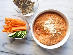 Roasted Red Pepper Walnut Dip - The Toasted Pine Nut