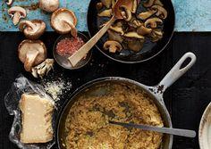 Athlete  Recovery Recipes: Ueli Steck   Mushroom Risotto