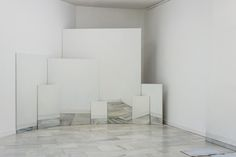 Sandra Gamarra, Piece of Gallery, 2013, oil on canvas, various dimensions.