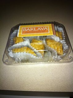 Baklava Unlimited - Baklava in different flavors--plain, chocolate, cherry chocolate and coconut chocolate.