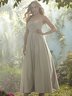 Alfred Angelo Disney Maidens -- 503 -- Hate the color but I feel the shape would work well on a lot of body types. Not sure about the fabric though. It seems a little heavy.