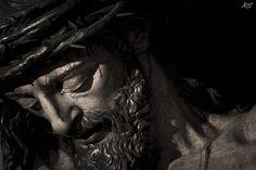 Primer plano del Cristo del Calvario.