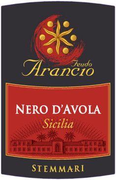 arancio nero d'avola ~ Our favorite! Wine Guy, Wine Label, Wines, Red Wines